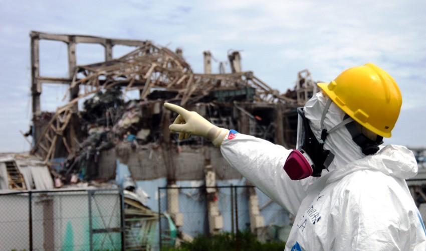 Réacteur accidenté n°3 de la centrale de Fukushima Daiichi (Japon). Copyright AIEA/2011.