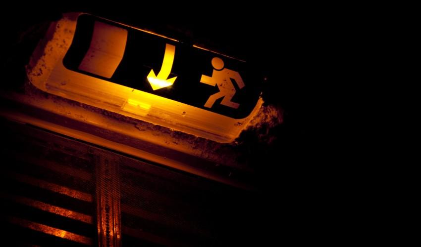 Sortie de secours, 2009. Maxime Marais/CC/Flickr